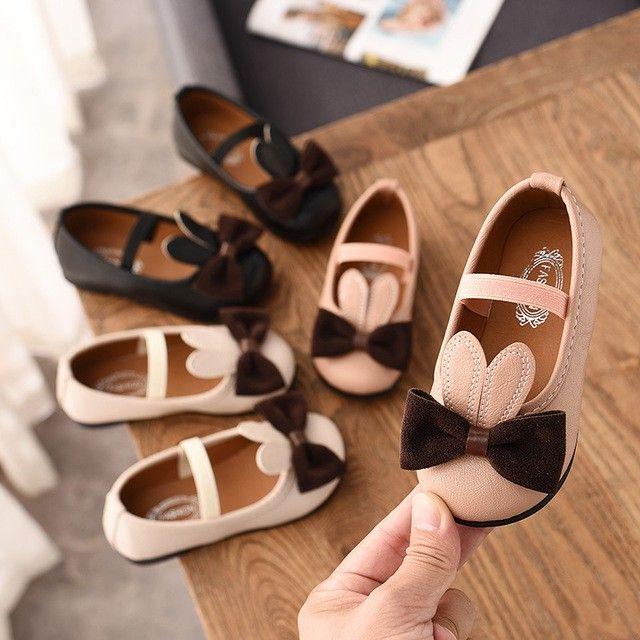 Giày Búp Bê Cho Bé Gái Nơ Mã M3