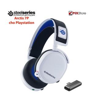 Tai nghe không dây chơi game Steelseries Arctis 7P cho Playstation (trắng) thumbnail
