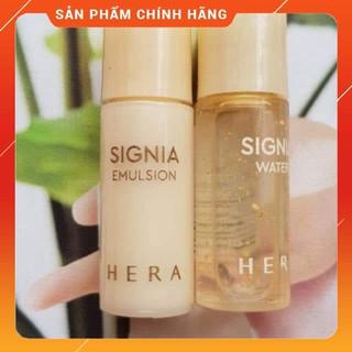 Cặp nước hoa hồng và Sữa dưỡng tái sinh da chiết xuất vàng 24k HERA Signia 5ml thumbnail