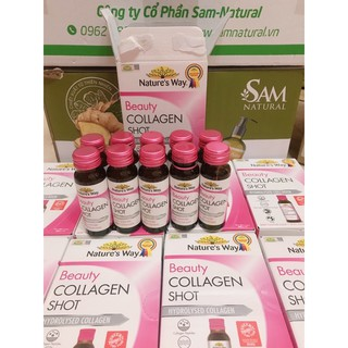 [CHÍNH HÃNG NHẬP KHẨU] Collagen dạng nước Natures Way Beauty Collagen shot 10 pack thumbnail