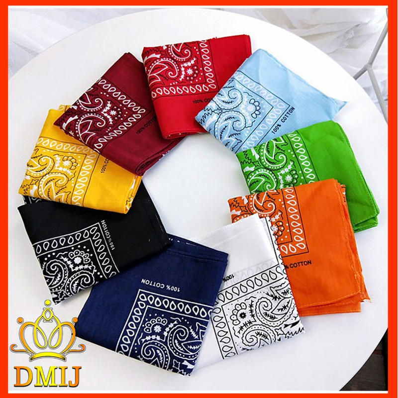 Khăn Turban Bandana Headband 20 Màu Thời Trang Cho N