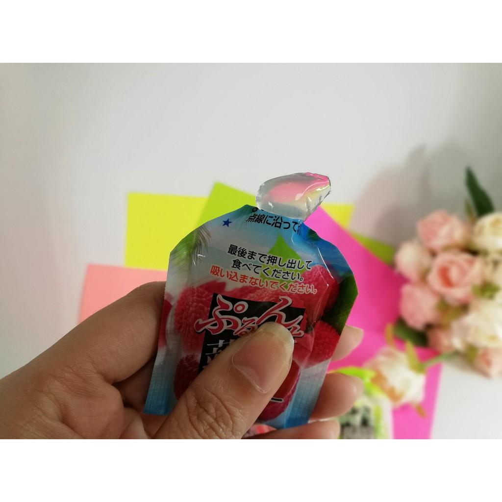 (9 vị) Thạch trái cây Orihiro 120gr