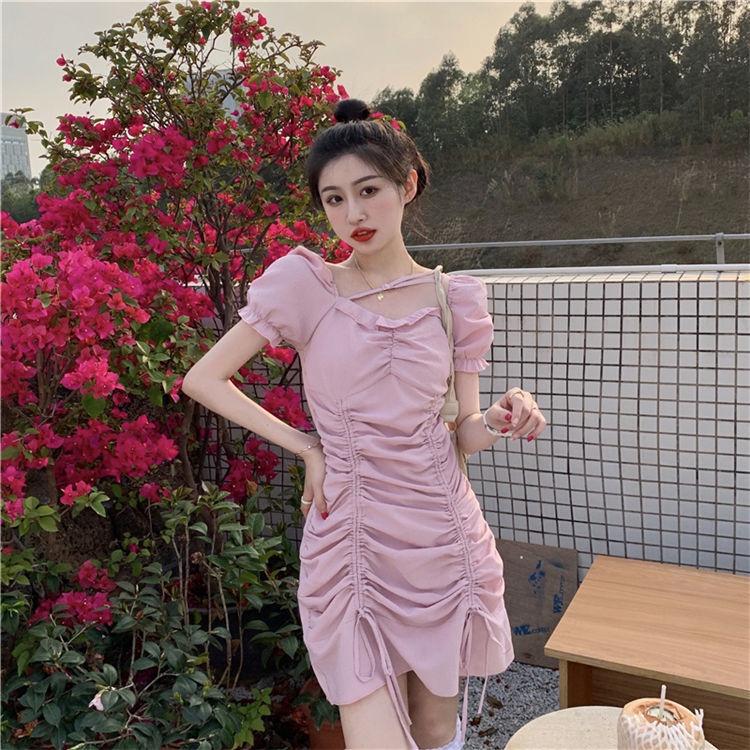 Mặc gì đẹp: Bồng bềnh với  Đầm tay phồng phối dây rút thời trang mùa hè quyến rũ cho nữ
