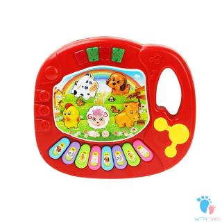 Baby Animal Farm Music Keyboard Infant Child Early Educational Toy Piano