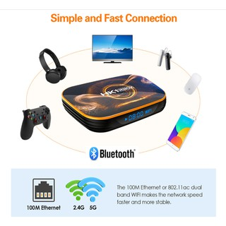 Android Tivi Box Ldk.ai HK1 RBOX Pro – Ram 4G Rom 64GB Android 10.0