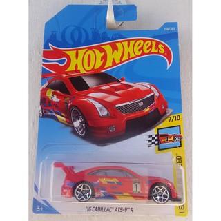 Xe mô hình Hot Wheels '16 Cadillac ATS-V R FJY11