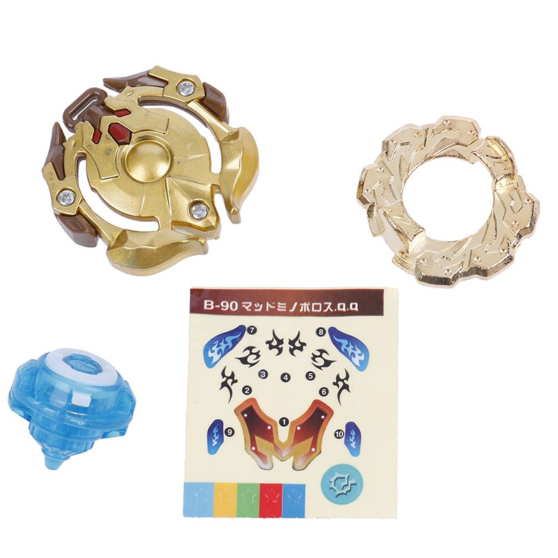 Beyblade burst B90-3N golden version metal fusion 4D launcher spinning top