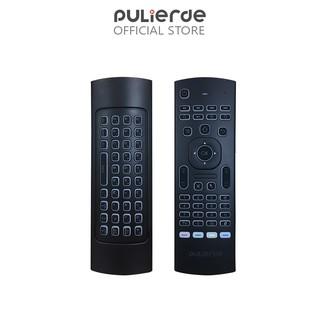 Thiết bị điều khiển từ xa không dây Pulierde MX3 2.4G tích hợp chuột và bàn phím không dây cho PC