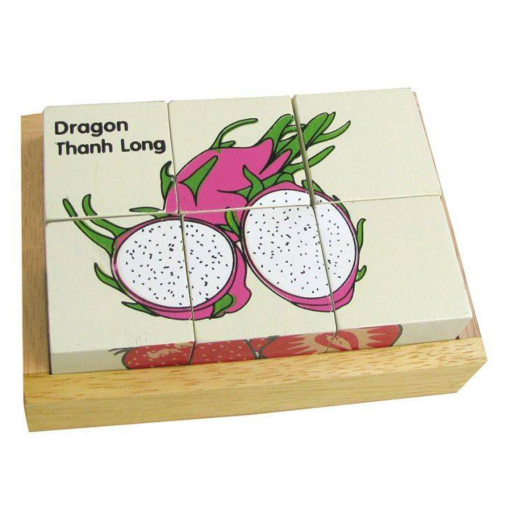 Xếp trái cây 6 khối - Winwintoys 66182