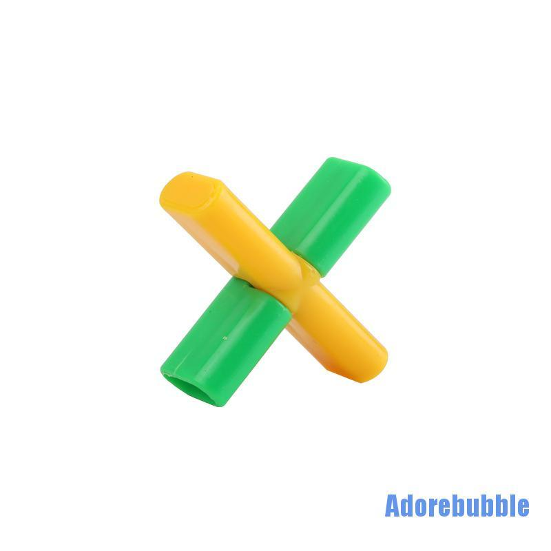 [Adorebubble 0224] 1pcs Magic Trick Props Magical Cross Lock Automatically Unlock Close-up Stage Performance Toy