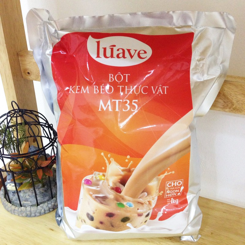 Bột Pha Trà Sữa Luave MT35 - Indo - Túi zip chiết 250g