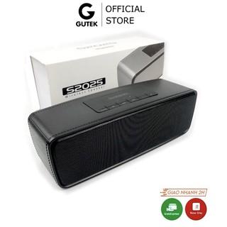 Loa Bluetooth Không Dây Cầm Tay Vỏ Kim Loại Nghe Nhạc Âm Bass Sống Động Cắm Usb Thẻ Nhớ Gutek S2025