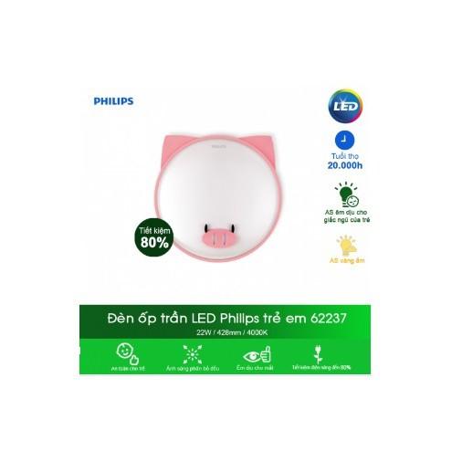 Đèn trần phòng trẻ em Philips Pig LED 62237 - 3039708 , 552985504 , 322_552985504 , 849000 , Den-tran-phong-tre-em-Philips-Pig-LED-62237-322_552985504 , shopee.vn , Đèn trần phòng trẻ em Philips Pig LED 62237