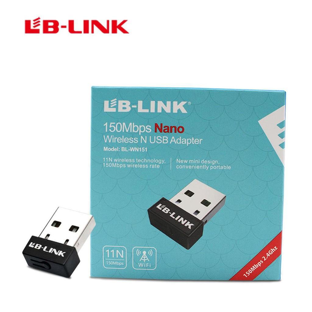 Bộ thu wifi LB-LINK BL-WN151 tốc độ 150Mb giá rẻ Giá chỉ 59.000₫