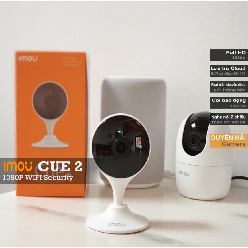 Camera WIFI IMOU CUE 2 (C22EP) Full HD 2.0MP (1920x1080) phát hiện chuyển động