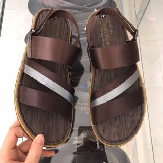 Sandal nam quai dù màu nâu