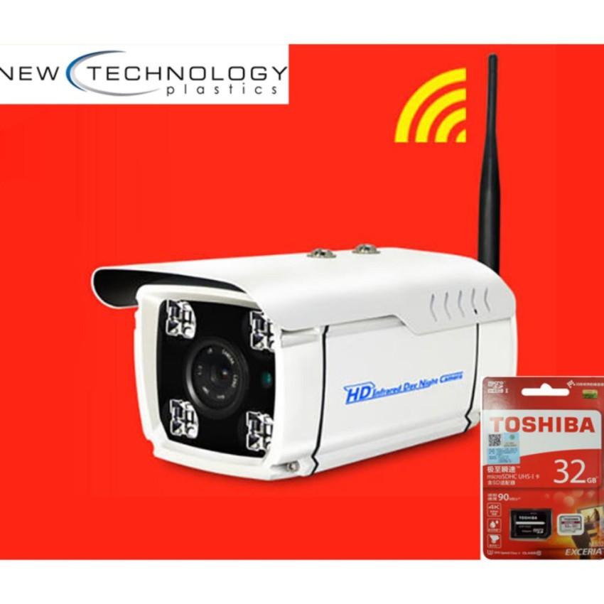 Camera Yoosee Ngoài trời chống nước YOOSEE 1080 và thẻ Toshiba 32GB xịn
