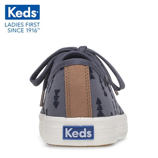 [WF59238] Giày Thể Thao Keds Nữ - Kickstart Hygge Embroidery Blue