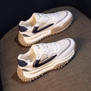 Giày Cũ2021Mùa Hè Mới Thoáng Khí Mỏng Giày Thể Thao Lưới Dày Thường Forrest Gump Giày Của Phụ NữinsThủy Triề1 thumbnail