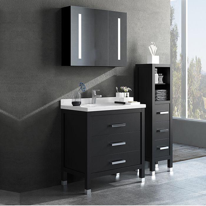 Tủ gương nhà tắm Tích hợp đèn Led cảm ứng MS03
