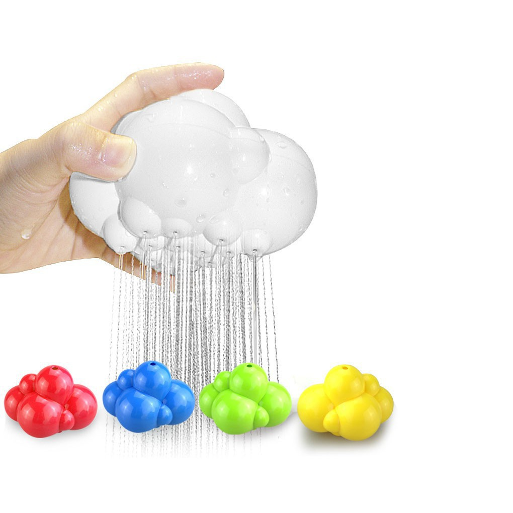 Baby Kids Water Playing Toy Cartoon Bath Bathing Clouds Infant Shower Toys