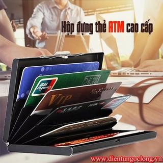 Ví Đựng Thẻ ATM Ngân Hàng, Namecard M89 Nhiều Ngăn