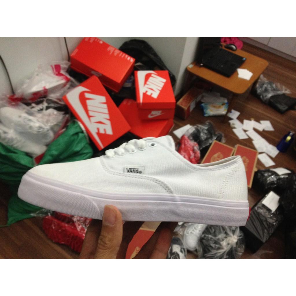 [FULL BOX] Giày Vans Classic màu Trắng (All White)