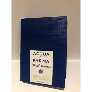 Nước hoa Acqua Di Parma Blu Mediterraneo Bergamotto Di Calabria vial 1.5ml