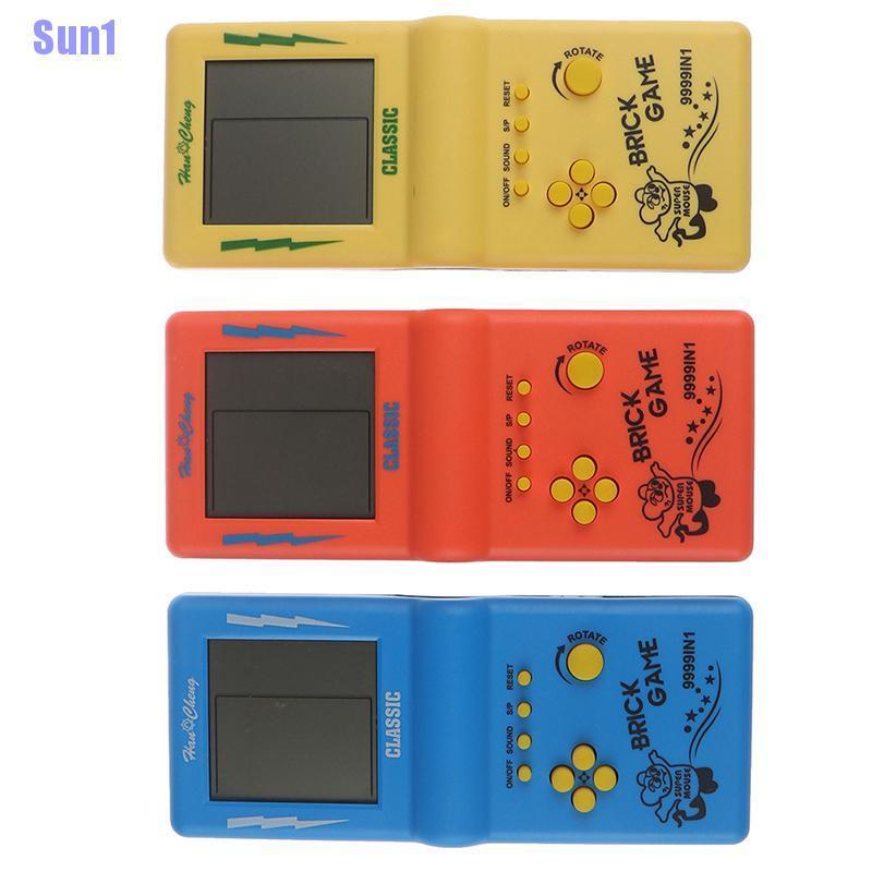 Sun1> Classic Big Screen Lcd Classic Handheld Game Machine Brick Game For Kids