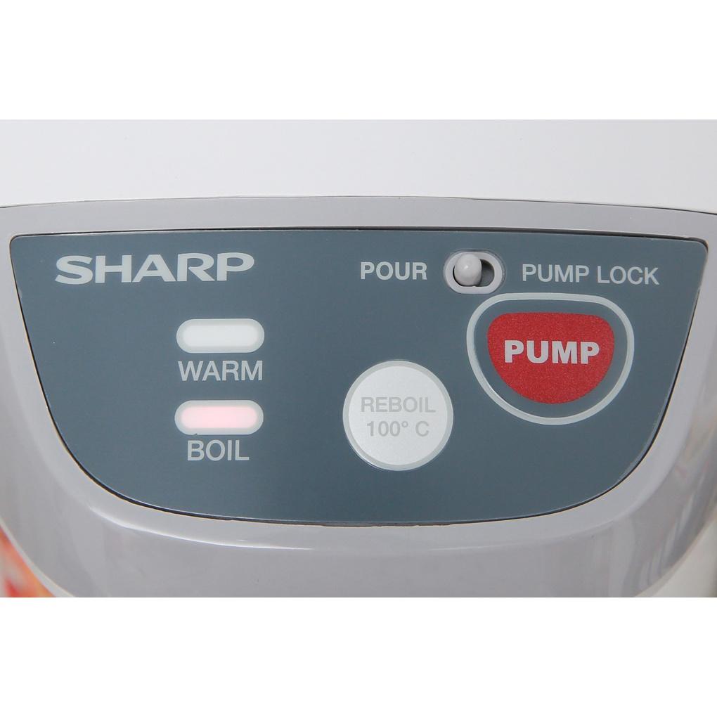 Bình thủy điện Sharp KP-Y32PV-CU, KP-Y32PV-RD (Điện tử, 3 lít, sôi nhanh, giữ ấm lâu, khoá trẻ em, nhập Thái Lan)