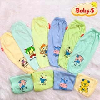 Quần chục dài size đại chất cotton mềm mịn cho bé trai và bé gái 13-23kg hình thú co giãn thoải mái Baby-S – SQVN004