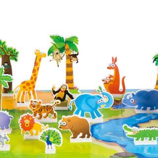 DABAGO Puzzle Sticker London Community Kids Children Intellectual Development