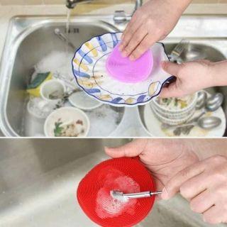 Miếng rửa bát silicon đa năng - hình 1