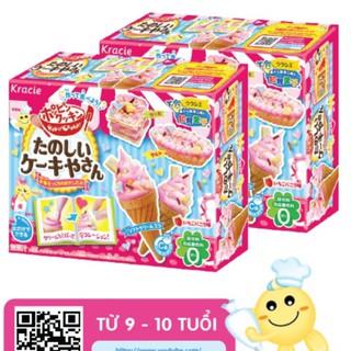 Combo 2 hộp kẹo đồ chơi Popin Cookin Cake – Bộ làm Kem