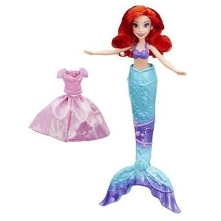 Búp bê Tiên Cá thay đuôi và áo Disney Princess Splash Surprise – MH 2141