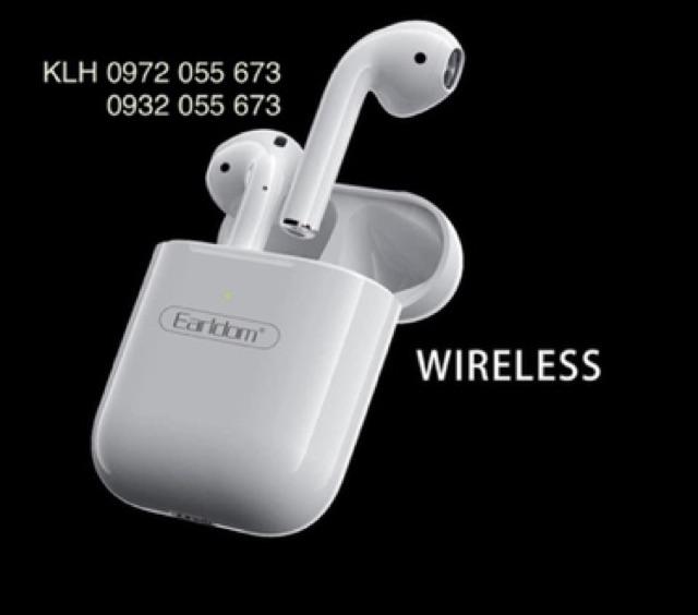 Tai nghe không dây Iphone bluetooth dáng Airpods Earldom BH17, tai bờ lu tút ko dây iphon KLH shop