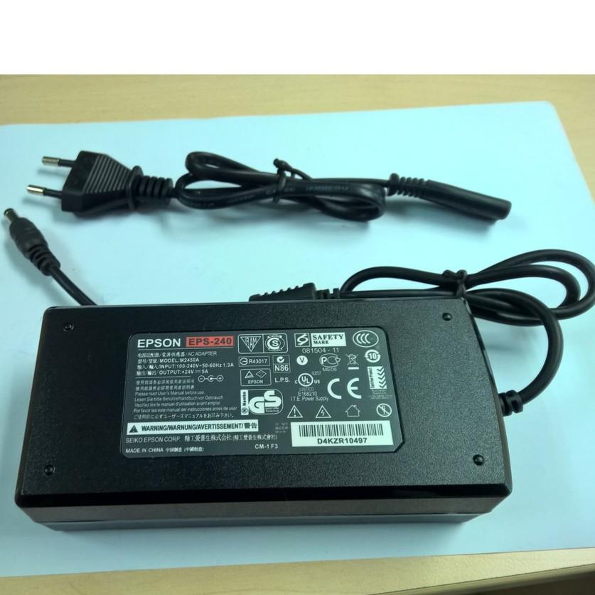 Adapter 24V 5A Epson chính hãng