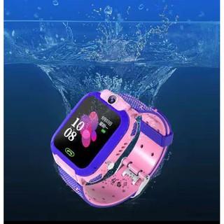 Đồng Hồ Thông Minh Q12 dành cho trẻ em, Chống nước IP67, Định Vị LBS, Gọi SOS khẩn cấp