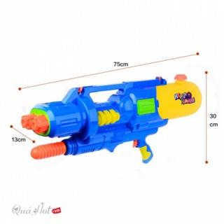 Đồ chơi Thuỷ lực – Súng nước đồ chơi trẻ em 2 nòng