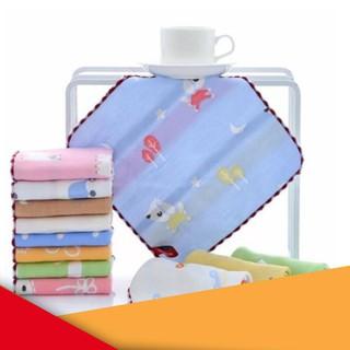 [XẢ KHO] Khăn sợi tre rửa mặt cho bé 6 lớp (mới) | HÀNG MỚI