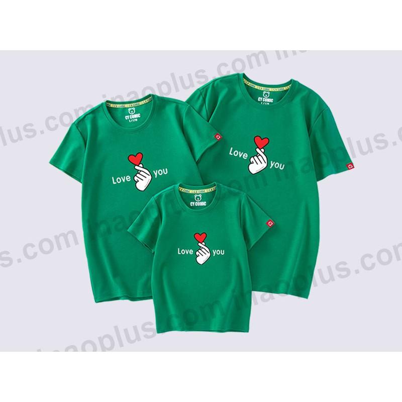 Áo thun dành cho gia đình in áo theo yêu cầu