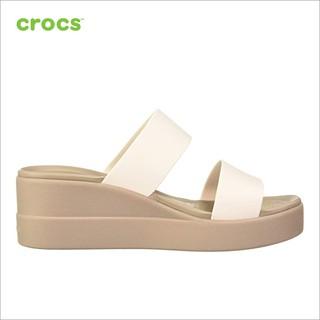 [Mã SUPE200K giảm 200K đơn từ 1tr2] Giày Nữ Crocs - Brooklyn Mid Wedge 206219-16T thumbnail
