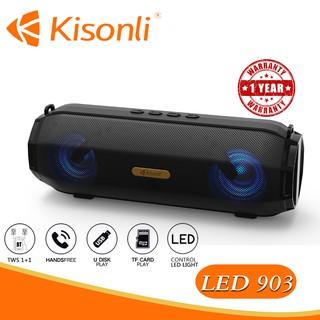 [HÀNG MỚI VỀ] Loa Kisonli Bluetooth LED-903 --- Bảo hành 12 tháng