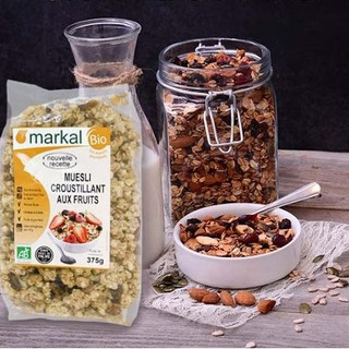 Ngũ cốc giòn trái cây hữu cơ – Markal