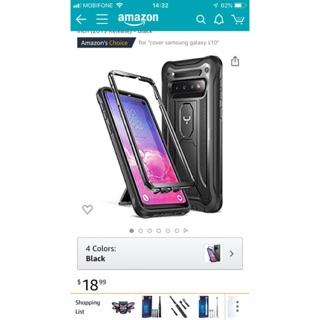 Ốp lưng cao cấp Samsung Galaxy S10/ S10plus chính hãng YOUMAKER Mỹ