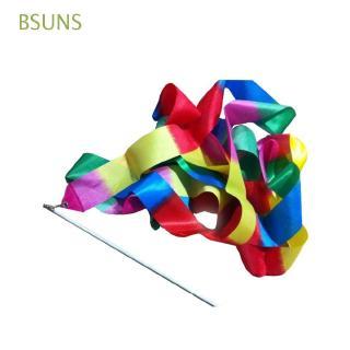BSUNS New Fashion Outdoor Games Children Sport Gymnastics Dancer Ribbon