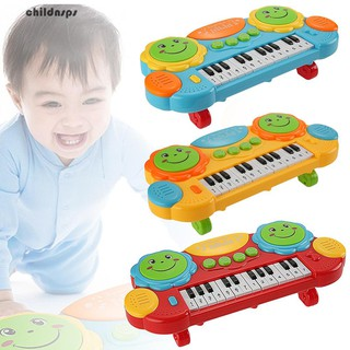 14 Keys Kids Play Keyboard Piano Educational Musical Toy with Light Xmas Gift
