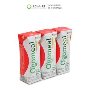 Lốc 3 hộp Ogomeal Vị Đậu đỏ 250ml/hộp – Bữa ăn thay thế 200Calo – Kiểm soát cân nặng an toàn, hiệu quả