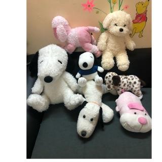 Combo chó bông hàng si ( 30-45cm ) inpox mua hàng
