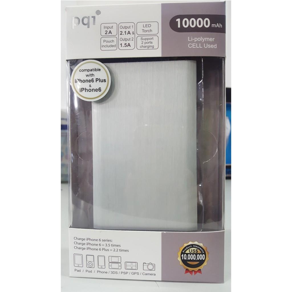 Pin sạc dự phòng Polymer PQI IPOWER 10000mAh